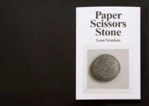 Publicatie Paper Scissors Stone - Leon Vranken